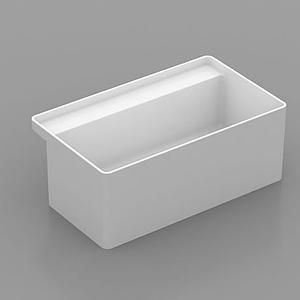 精品浴缸模型
