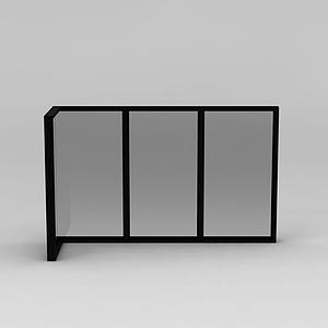 推拉式窗戶模型