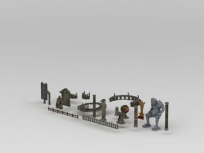 3d游戲素材模型
