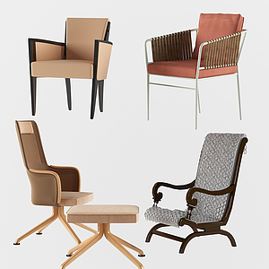 3d現代休閑<font class='myIsRed'>家居</font>單椅模型