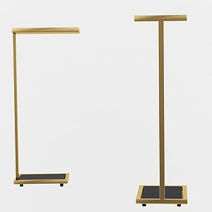 簡歐簡易小臺燈模型