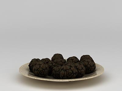 3d食品點心免費模型