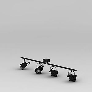 軌道燈模型