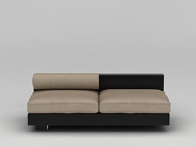 現代中式沙發模型3d模型