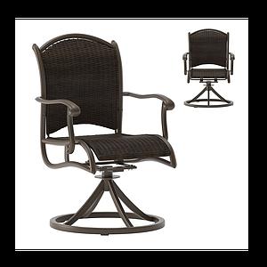 美式時尚辦公椅模型
