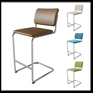 現代椅模型