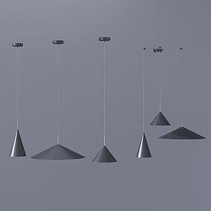 北歐休閑幾何吊燈模型