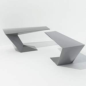 現代設計型簡約桌模型