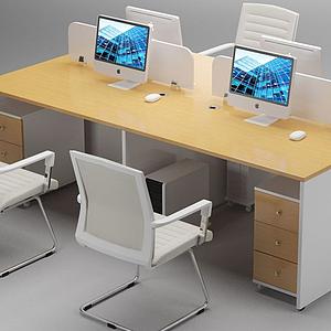 辦公桌模型