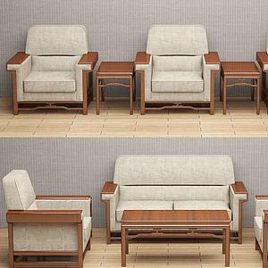 會議沙發模型