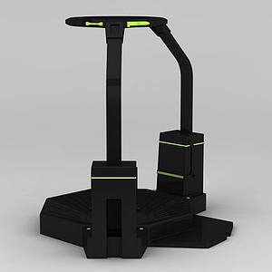 VR跑步機模型