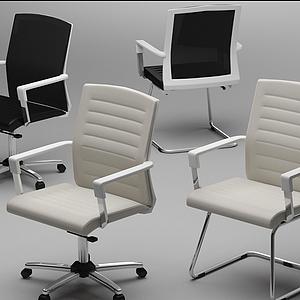 辦公椅模型