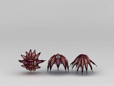 3d游戲怪獸模型
