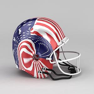 復古美式頭盔模型