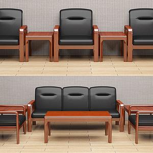 辦公沙發模型