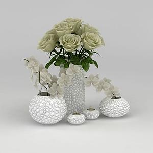 3d<font class='myIsRed'>家居</font>裝飾花卉模型