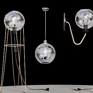落地燈模型