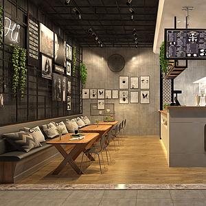 茶餐廳模型