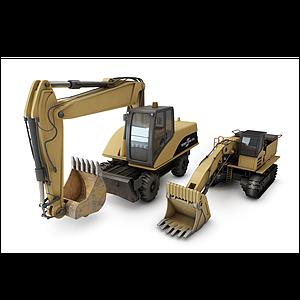 挖掘機模型
