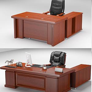 老板桌模型