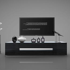現代風格電視柜模型
