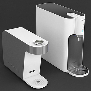 現代自動加熱熱水器模型