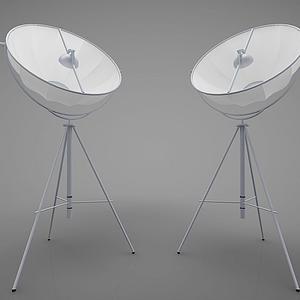 現代風格地燈模型
