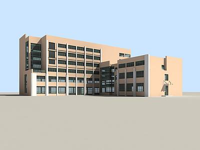 3d公共建筑模型