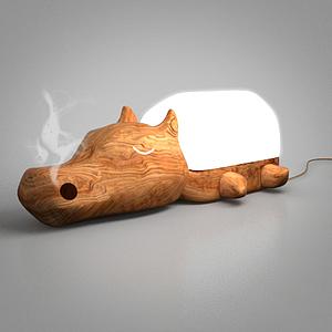 香薰燈模型