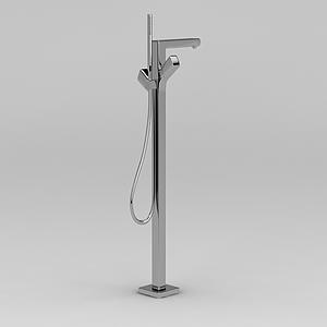 浴室不銹鋼升降桿模型