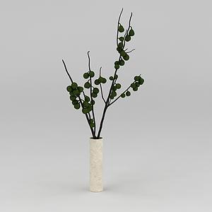 3d<font class='myIsRed'>家居</font>裝飾花瓶模型