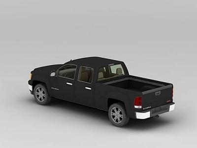 3d皮卡車模型