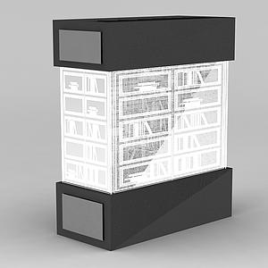 3d書柜<font class='myIsRed'>文件柜</font>模型
