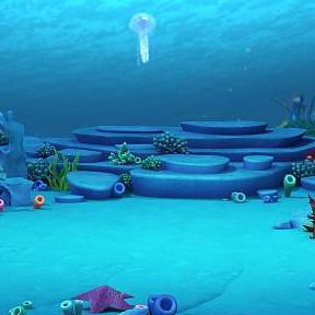 海底世界模型