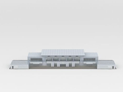 3d<font class='myIsRed'>汽車</font>客運站模型