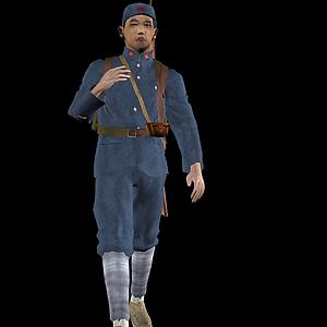 紅軍人物模型