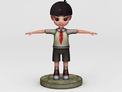 3d人物動畫模型