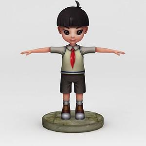 人物動畫模型