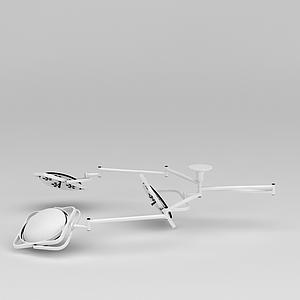手術室專用無影燈模型