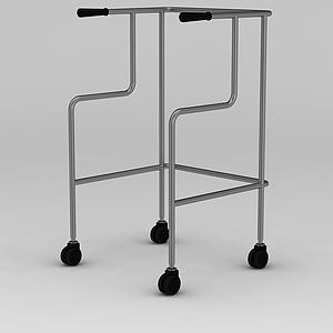 四輪助行器模型