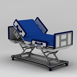 多功能護理床模型