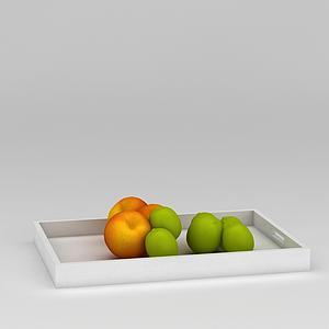 3d木質<font class='myIsRed'>水果</font>盤和<font class='myIsRed'>水果</font>模型