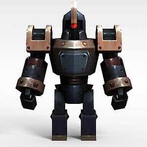 3d<font class='myIsRed'>機器人</font>戰士模型