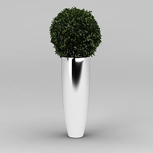 3d仿真綠植擺件模型