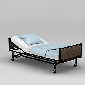 護理床模型