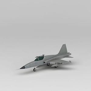 F-5E戰斗機模型