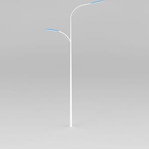 高低臂路燈模型