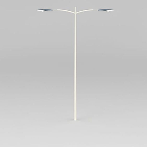 雙臂道路燈模型