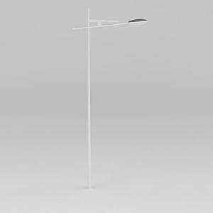 高速單臂路燈模型