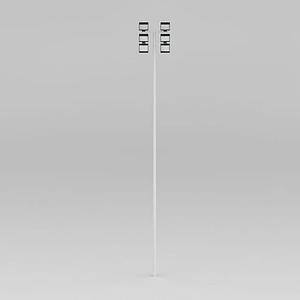 廣場高桿射燈模型